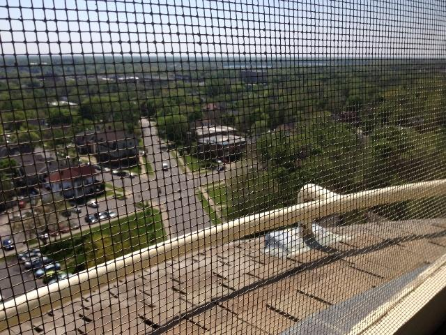 """View from the """"Crow's Nest""""."""