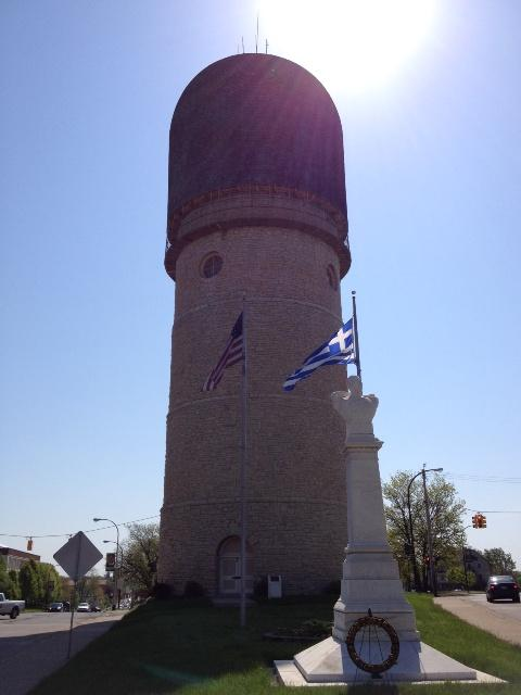 The Ypsilanti Water Tower