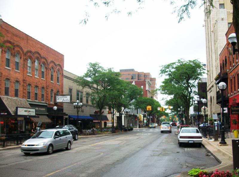 Ann Arbor's Main Street