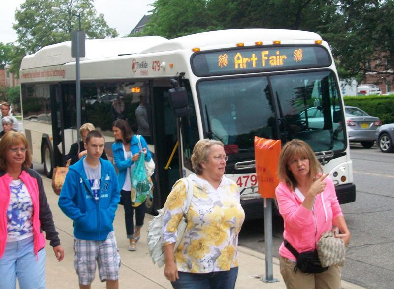 Ann Arbor Art Fair Bus