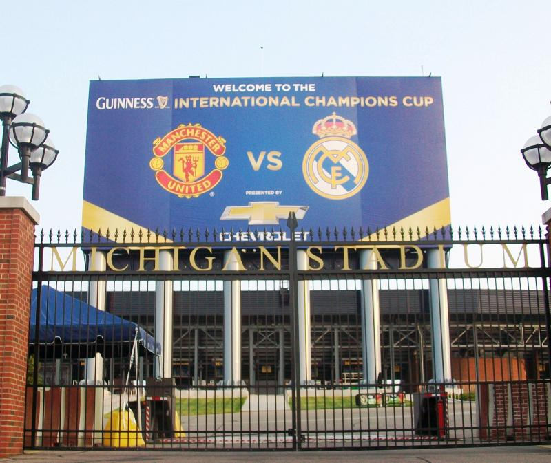Michigan Stadium Manchester United Real Madrid