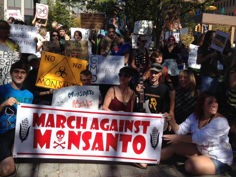 'March Against Monsanto' rally in Ann Arbor