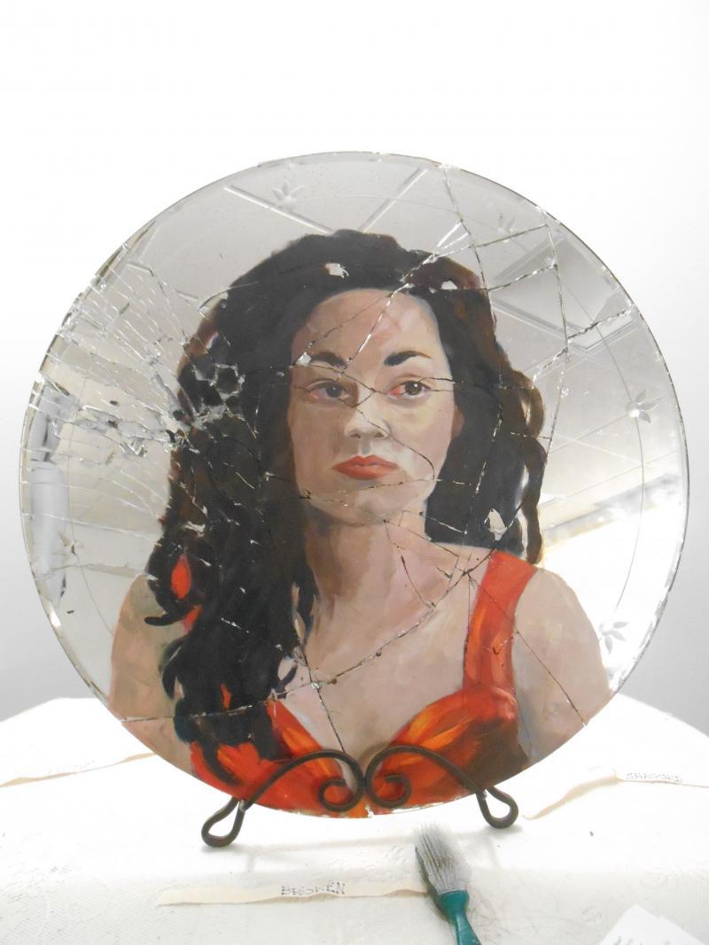 "Mirror image from ""Broken""."