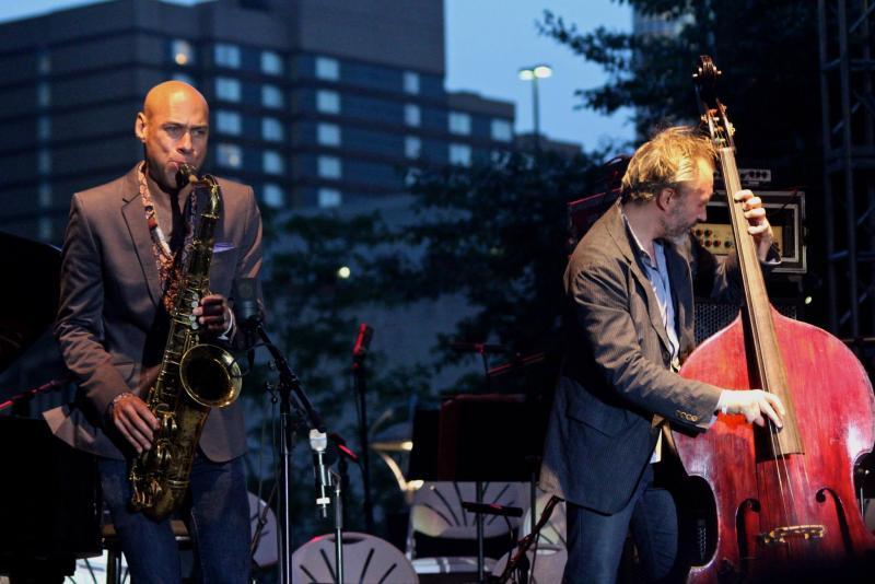 Detroit Jazz Festival Artist in Residence, Joshua Redman with Reid Anderson