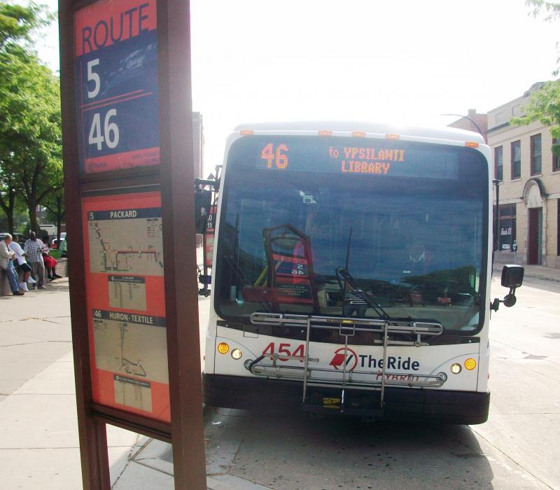 Ann Arbor Area Transportation Authority Route 46