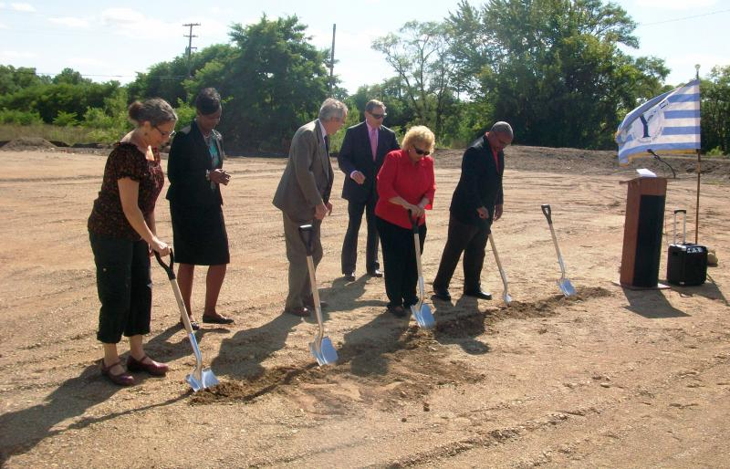 Ypsilanti's Water Street Family Dollar Ground Breaking