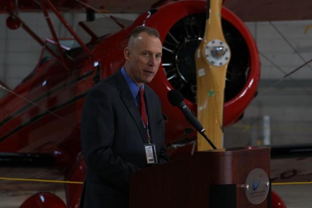 Willow Run Airport Director Chris Mullin.