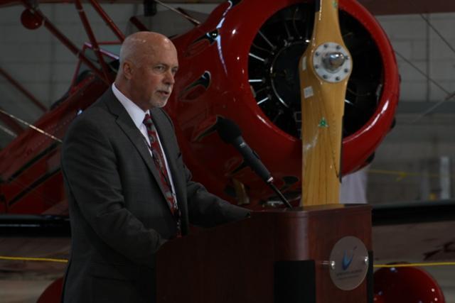 Wayne County Airport Authority CEO Tom Naughton.
