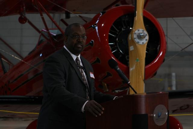 FAA Airports District Office Director John Mayfield.