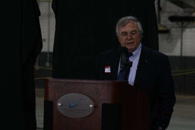 Yankee Air Museum founder and Michigan Aerospace Foundation President Dennis Norton.