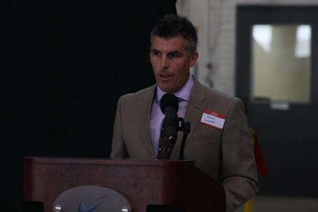 Yankee Air Museum Excecutive Director Kevin Walsh.