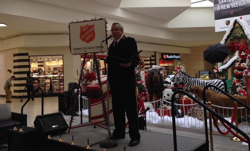 Washtenaw County Salvation Army Coordinator Major Kris Wood.