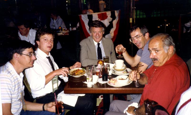 Greg Karrer, Walter Kraft, Bill Bonds, John Fuller and Mike Kalush