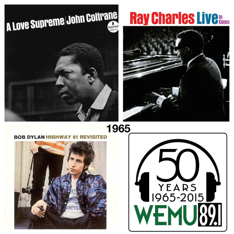 Bob Dylan, Miles Davis, Ray Charles