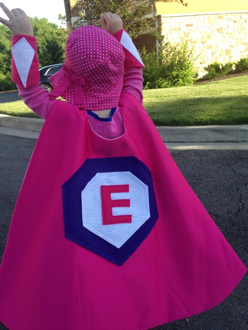"""Super Ella"" battling cancer."