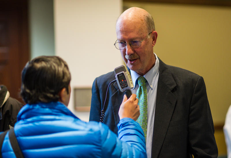 89.1 WEMU's Jorge Avellan interviews new EMU interim president Donald Loppnow