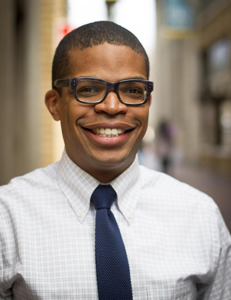 Omari Rush, Director of Community Engagement at Ann Arbor Art Center