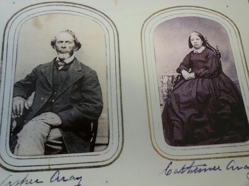 Asher and Catherine Aray