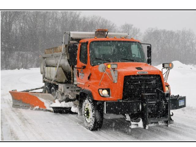 New County Plow Truck