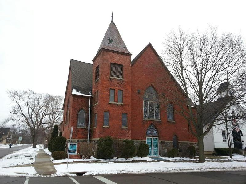 Historic Brown Chapel AME church in Ypsilanti