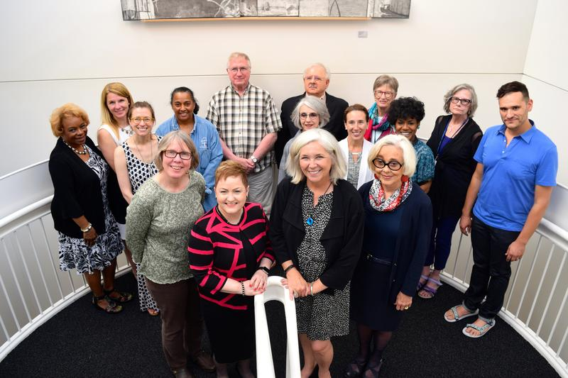 The AADL and AAPS Boards pose for a photograph following the unanimous decision on June 20, 2016.