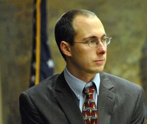 Ann Arbor City Councilman Chuck Warpehoski