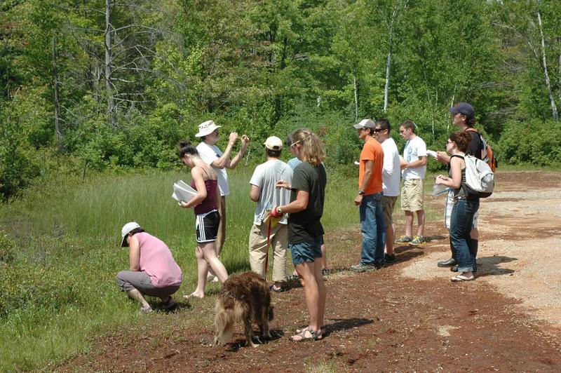 EMU class being taught at Fish Lake.