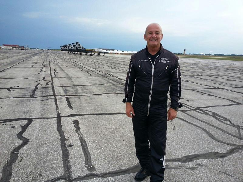 Breitling team leader Jacques Bothelin.
