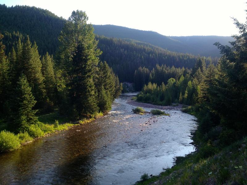 """Danaher Creek, Montana, favorite fishing spot of the founders of the Danaher Corporation and inspiration for the name of the company."""
