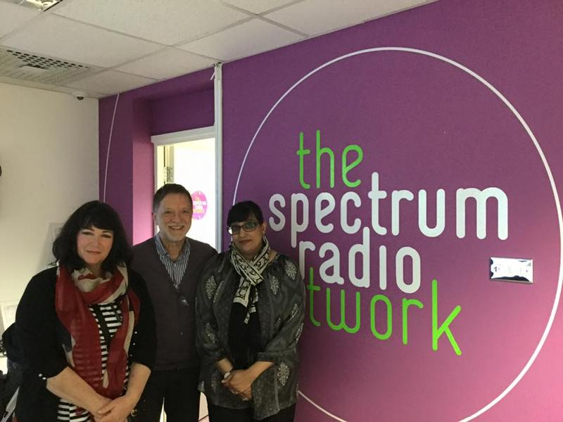 One of the media organizations that visited was Spectrum Radio.