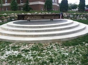 Eastern Michigan University's 9/11 Memorial