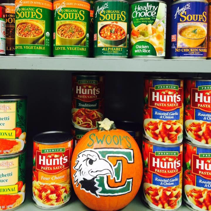 Swoop's Student Food Pantry works with Food Gatherers to help students with food insecurity