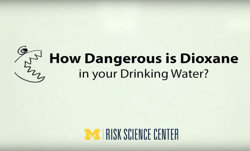 """Risk Bites"" video by Dr. Andrew Maynard, currently Director of the Arizona State University Risk Innovation Lab"
