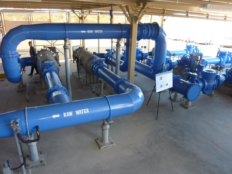 """City of Tucson Advanced Oxidation Process Water Treatment Facility"""