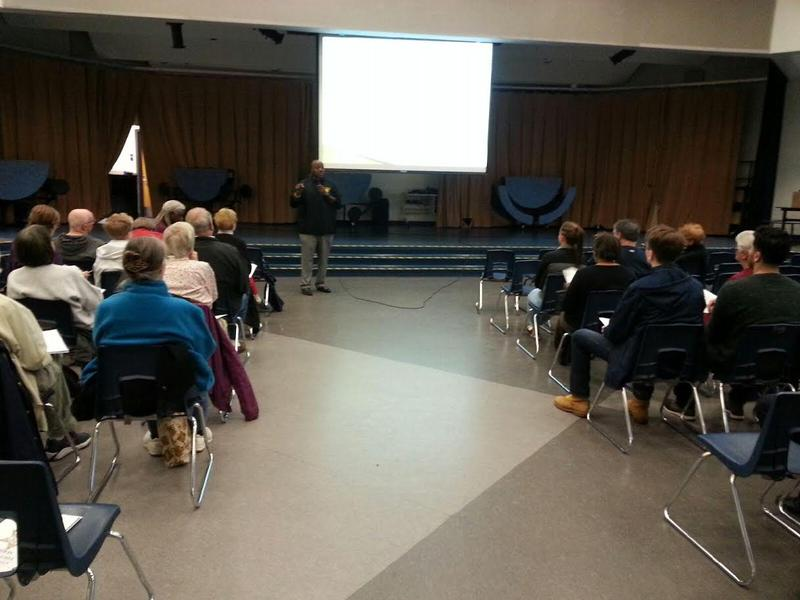 Washtenaw County Sheriff's Office community education series in Dexter.