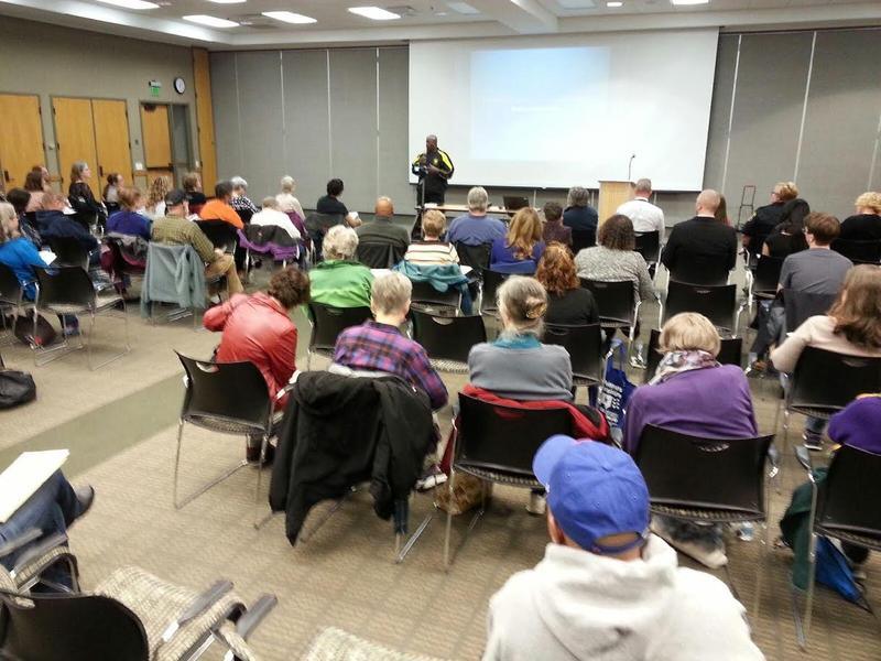 Over 70 people attended the Community Education Series at Washtenaw Community College.
