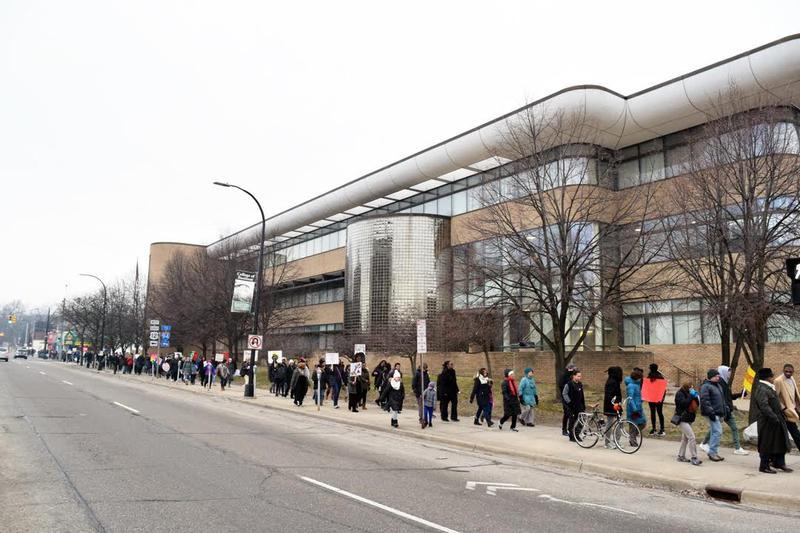 March on Michigan Avenue.