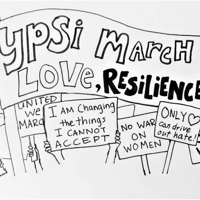 Ypsilanti March