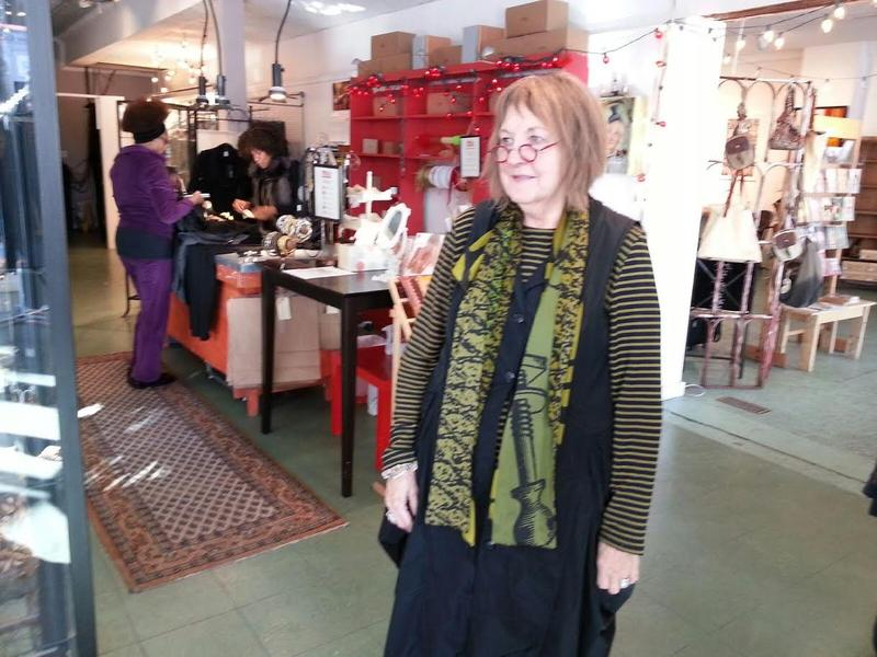 Mix Space retail shop owner Bonnie Penet inside her store.