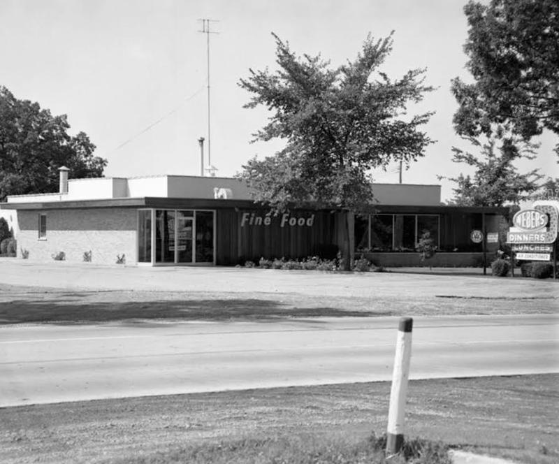 Weber's in 1956 on Jackson Road.