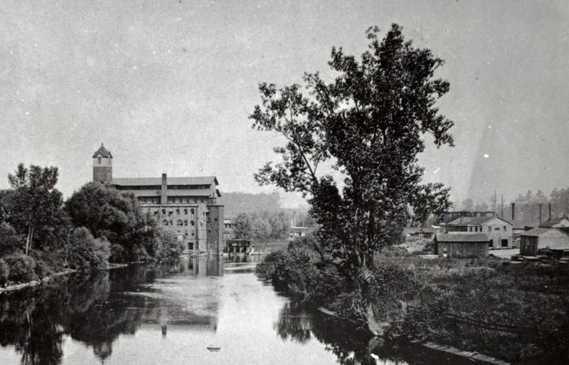 Women worked at mills along the Huron River in Ypsilanti.
