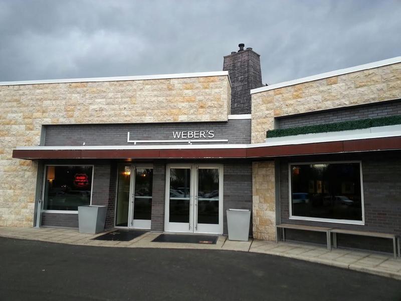 Weber's Restaurant in Ann Arbor.
