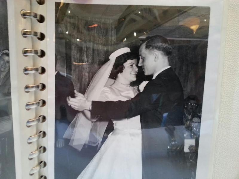 The Rauers had their wedding reception at Weber's in 1960.