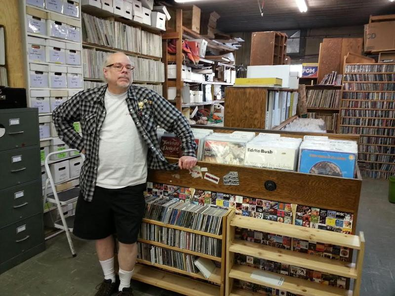 Jim Dwyer co-owns Encore Records in Ann Arbor.