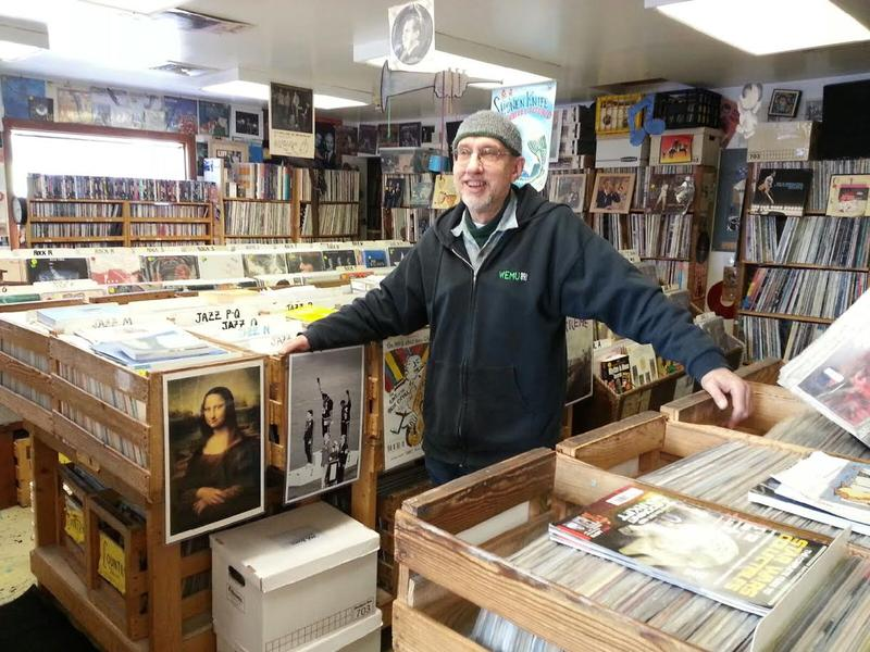 Marc Taras is co-owner of PJ's Used Records and CD's in Ann Arbor.