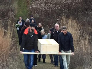 Kellum family home burial in rural Washtenaw County