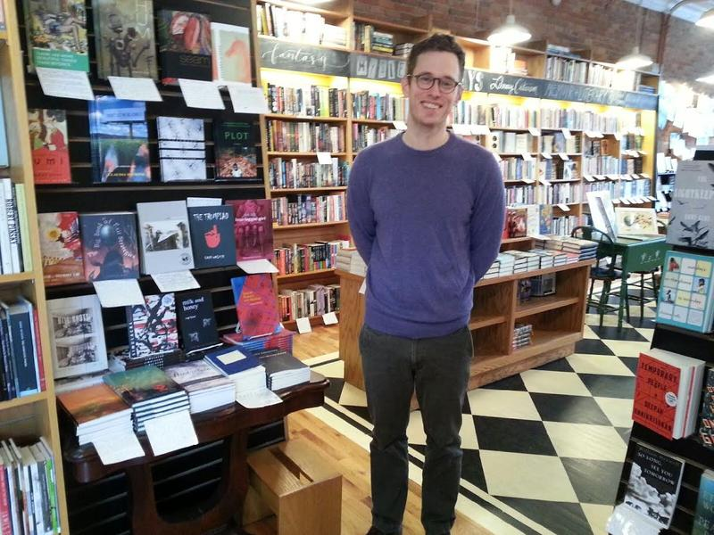 Michael Gustafson from Literati Bookstore.