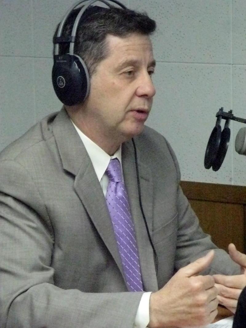 EMU Vice President for Student Enrollment Kevin Kucera
