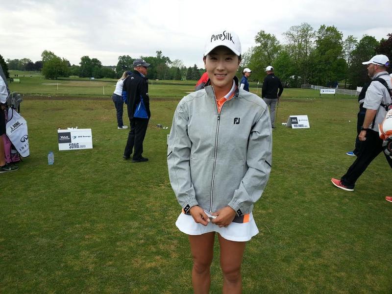 Golfer Jennifer Song was born in Ann Arbor.
