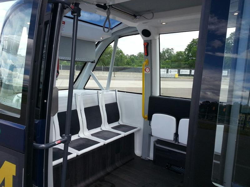The shuttle can transport up to fifteen passengers.